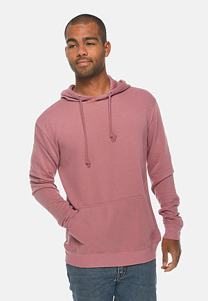 French Terry Hoodie MAUVE front