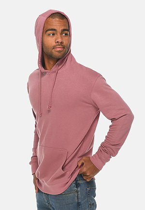 French Terry Hoodie MAUVE side