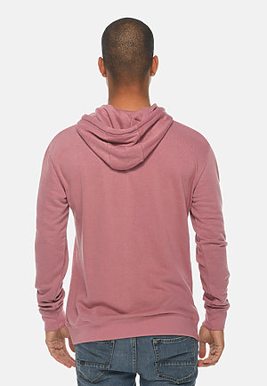 French Terry Hoodie MAUVE back