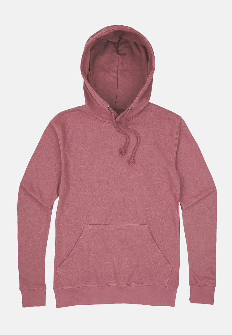 French Terry Hoodie MAUVE flat
