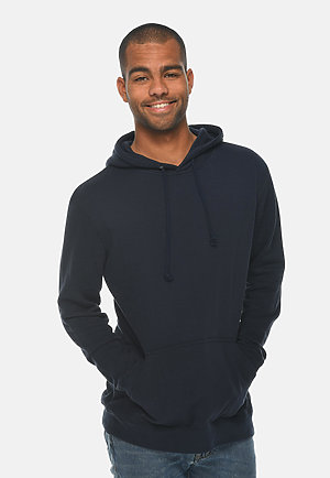 French Terry Hoodie NAVY front