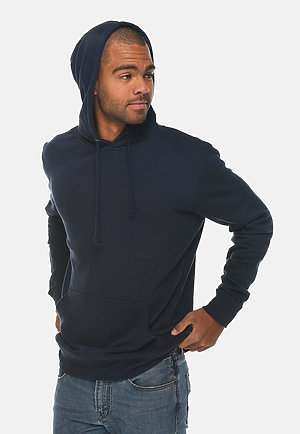 French Terry Hoodie NAVY side
