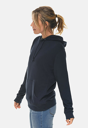 French Terry Hoodie NAVY sidew