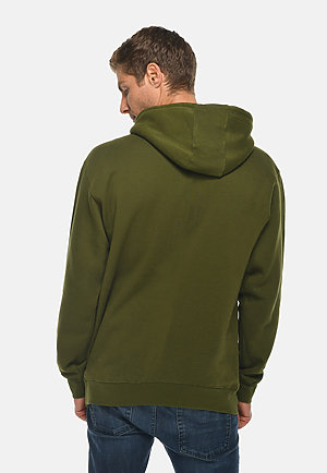 Premium Pullover Hoodie ARMY GREEN back