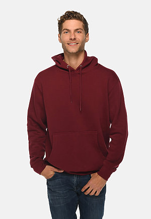 Premium Pullover Hoodie BURGUNDY front