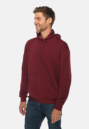 Premium Pullover Hoodie BURGUNDY side