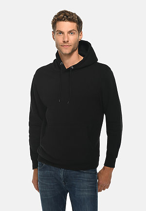 Premium Pullover Hoodie BLACK front