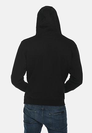 Premium Pullover Hoodie BLACK back