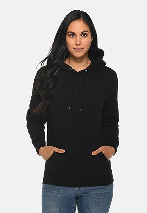 Premium Pullover Hoodie BLACK frontw