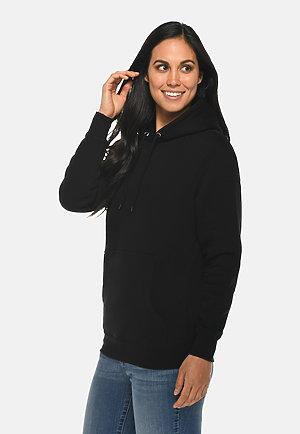 Premium Pullover Hoodie BLACK sidew