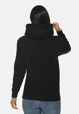 Premium Pullover Hoodie BLACK backw