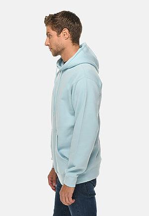 Premium Pullover Hoodie BLUE MIST side