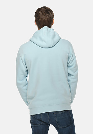 Premium Pullover Hoodie BLUE MIST back