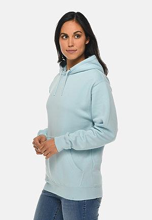Premium Pullover Hoodie BLUE MIST sidew