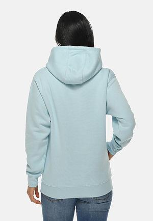 Premium Pullover Hoodie BLUE MIST backw