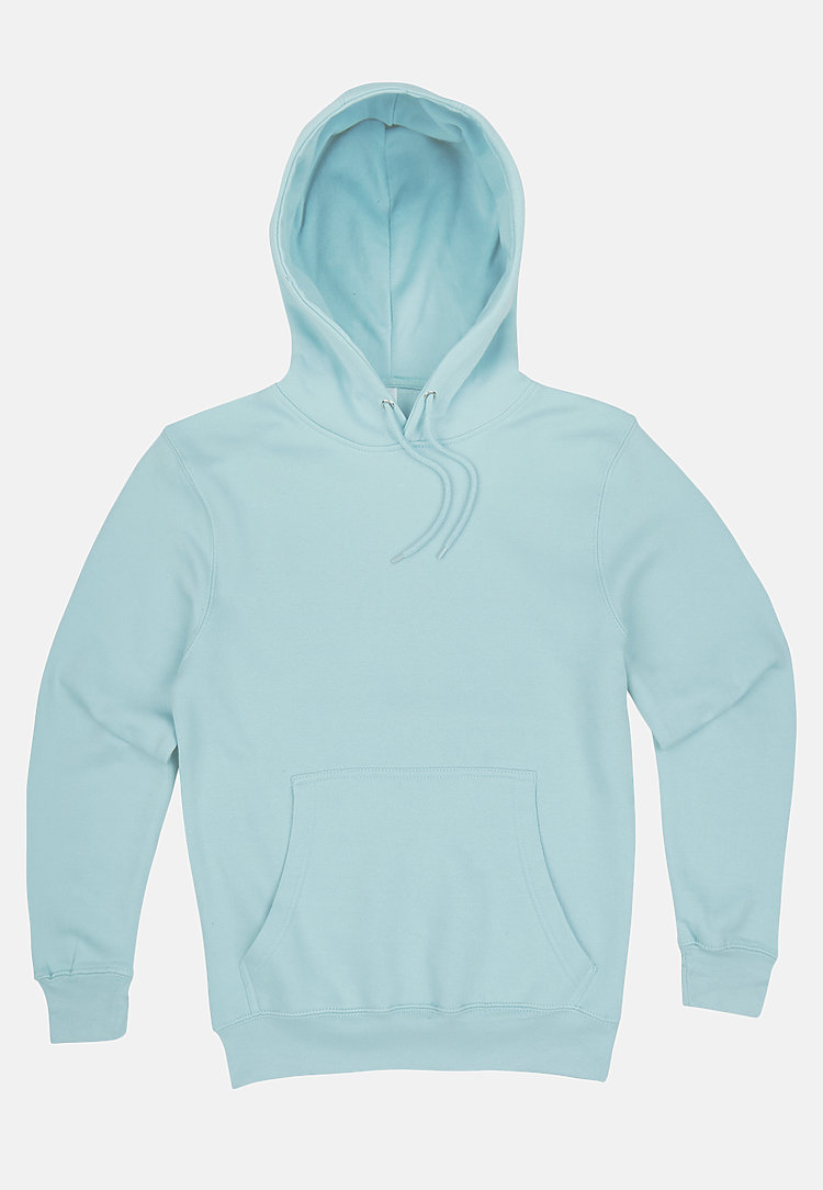 Premium Pullover Hoodie BLUE MIST flat