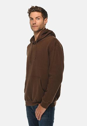 Premium Pullover Hoodie CHESTNUT side