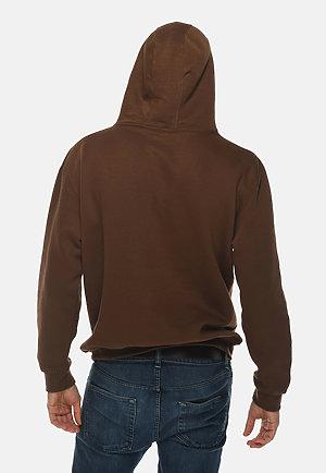 Premium Pullover Hoodie CHESTNUT back