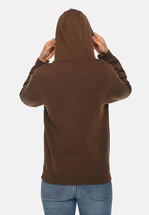 Premium Pullover Hoodie CHESTNUT backw