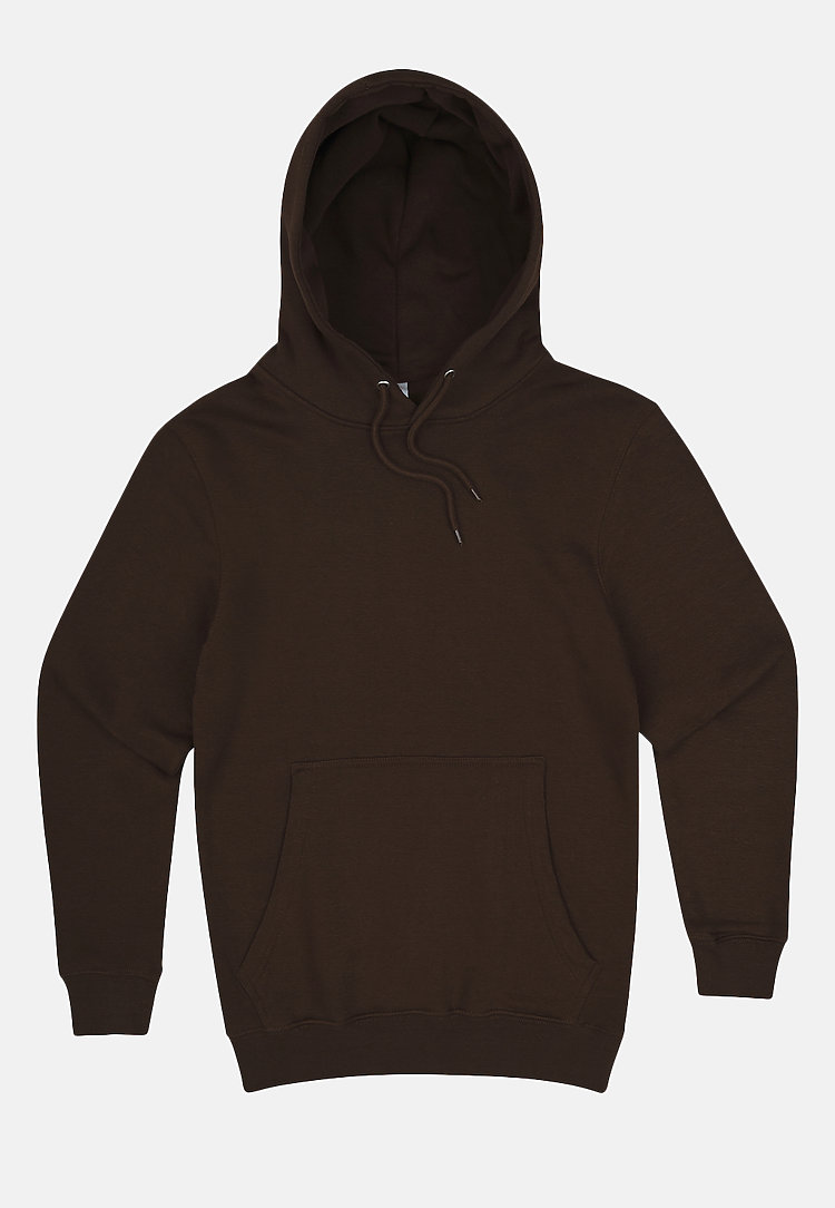 Premium Pullover Hoodie CHESTNUT flat
