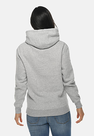 Premium Pullover Hoodie HEATHER GREY backw