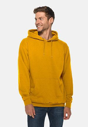 Premium Pullover Hoodie MUSTARD front