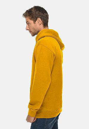 Premium Pullover Hoodie MUSTARD side