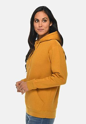 Premium Pullover Hoodie MUSTARD sidew