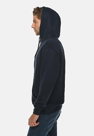 Premium Pullover Hoodie NAVY BLUE side