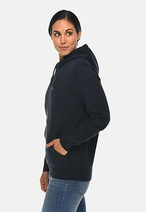 Premium Pullover Hoodie NAVY BLUE sidew
