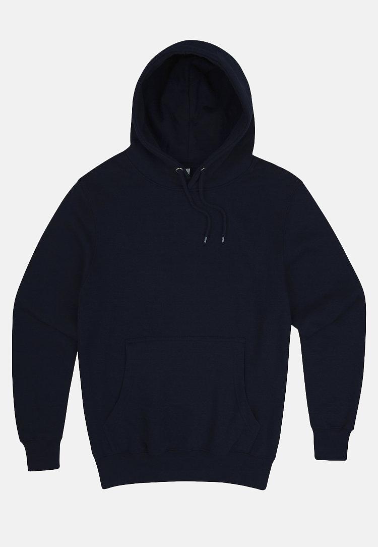 Premium Pullover Hoodie NAVY BLUE flat