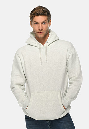 Premium Pullover Hoodie OATMEAL HEATHER front