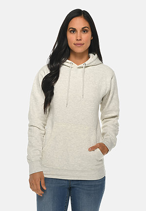 Premium Pullover Hoodie OATMEAL HEATHER frontw