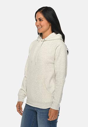 Premium Pullover Hoodie OATMEAL HEATHER sidew