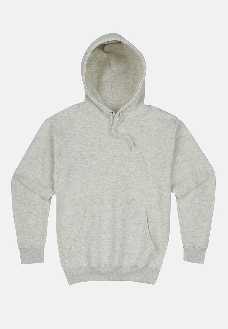 Premium Pullover Hoodie OATMEAL HEATHER flat