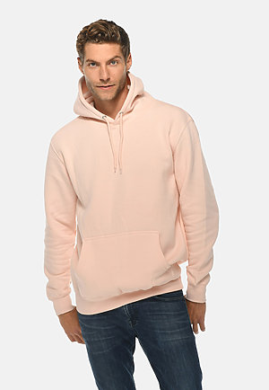 Premium Pullover Hoodie PALE PINK front