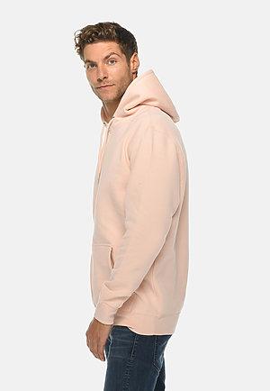 Premium Pullover Hoodie PALE PINK side