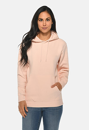 Premium Pullover Hoodie PALE PINK frontw