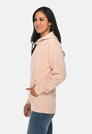 Premium Pullover Hoodie PALE PINK sidew