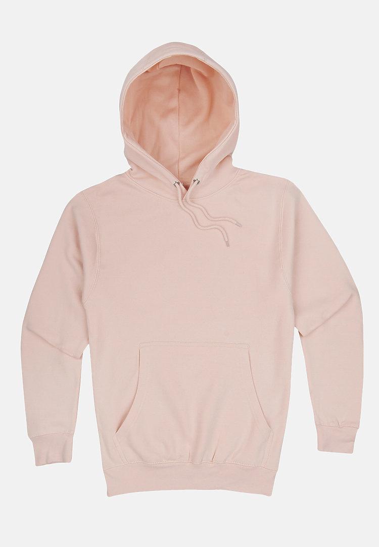 Premium Pullover Hoodie PALE PINK flat