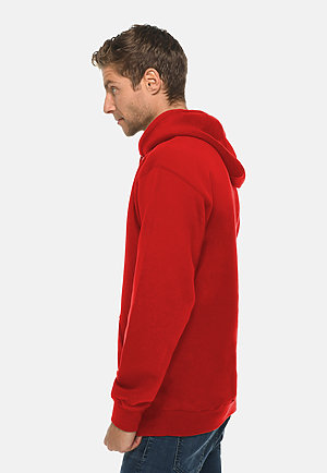 Premium Pullover Hoodie RED side