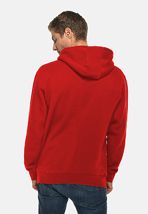 Premium Pullover Hoodie RED back