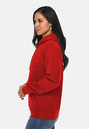 Premium Pullover Hoodie RED sidew