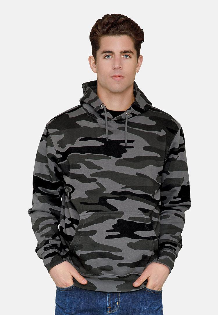 Premium Pullover Hoodie SLATE CAMO front