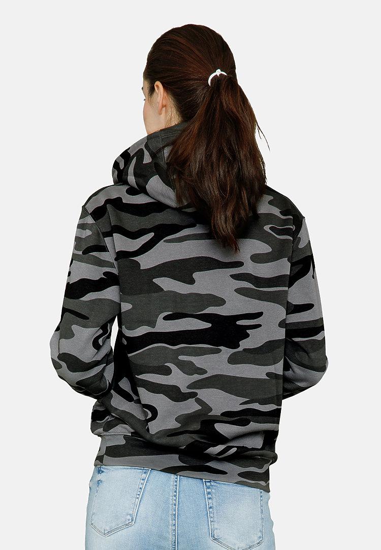 Premium Pullover Hoodie SLATE CAMO backw