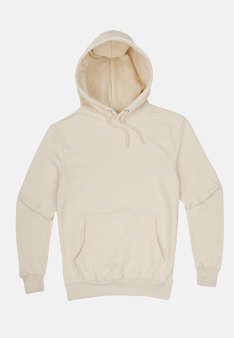 Premium Pullover Hoodie SANDSHELL flat