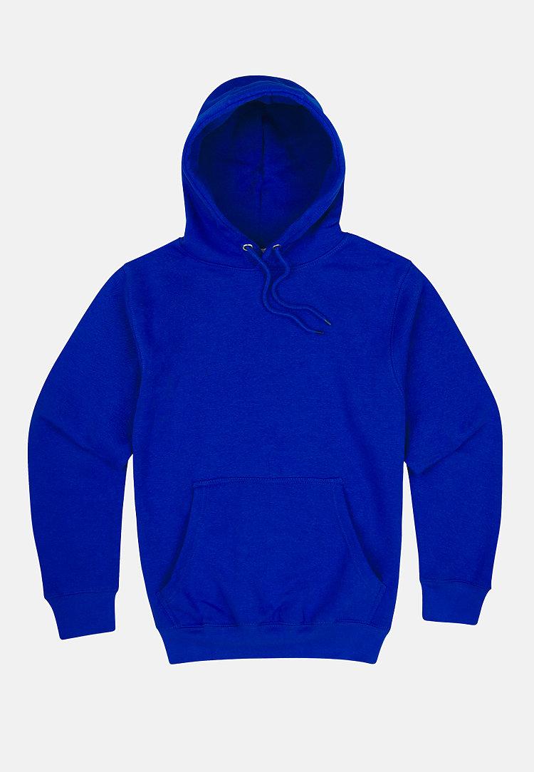 Premium Pullover Hoodie TRUE ROYAL flat