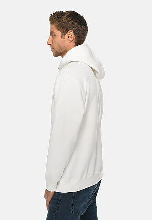 Premium Pullover Hoodie WHITE side