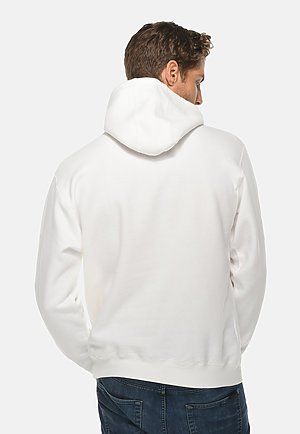 Premium Pullover Hoodie WHITE back