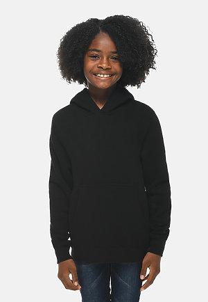 Premium Youth Hoodie BLACK frontw